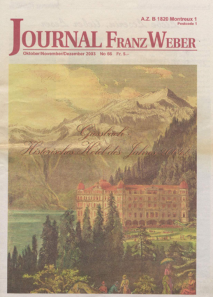 Journal Franz Weber 66