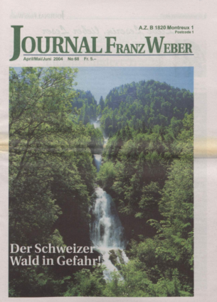 Journal Franz Weber 68