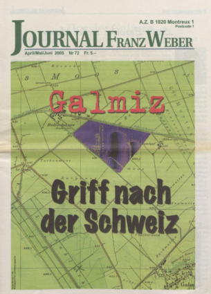 Journal Franz Weber 72
