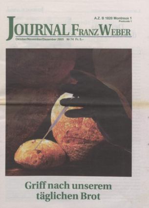 Journal Franz Weber 74