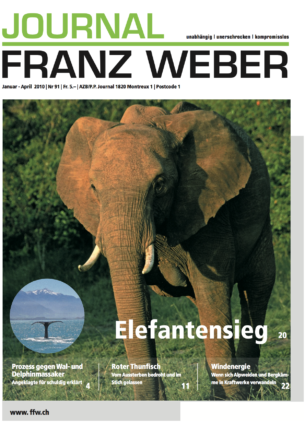 Journal Franz Weber 91