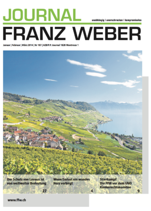 Journal Franz Weber 107