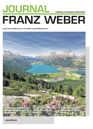 Journal Franz Weber 111