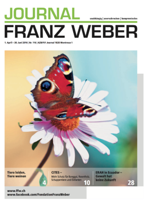Journal Franz Weber 116