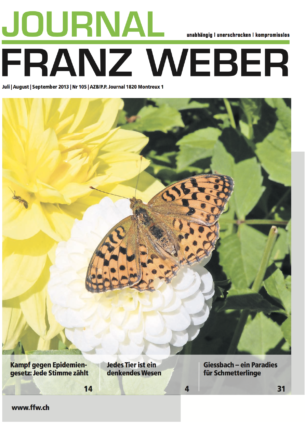 Journal Franz Weber 105