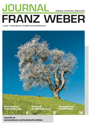 Journal Franz Weber 115