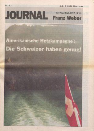 Journal Franz Weber 41