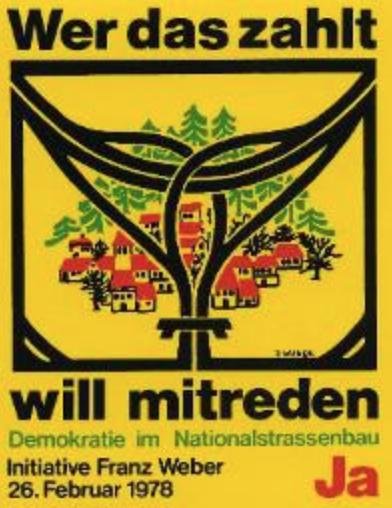 Kampf gegen die Landschaftszerstörung durch Autobahn-Projekte