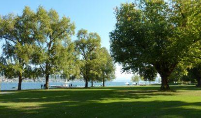 Téléphérique au-dessus du Lac de Zürich