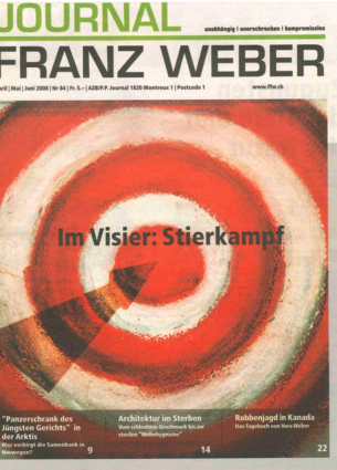 Journal Franz Weber 84