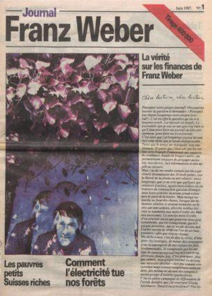 Journal Franz Weber 1
