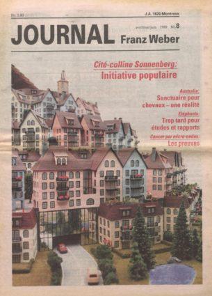 Journal Franz Weber 8