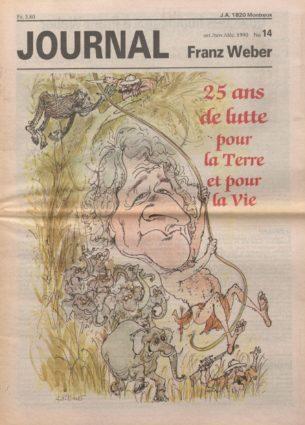 Journal Franz Weber 14