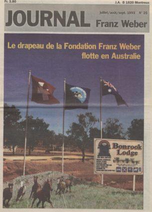 Journal Franz Weber 25