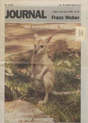 Journal Franz Weber 29