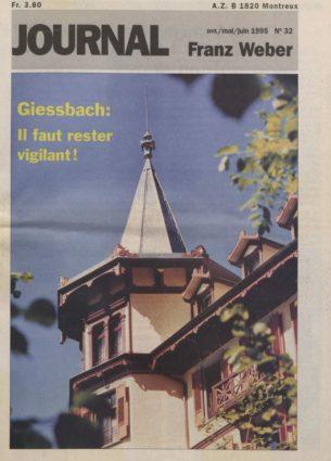 Journal Franz Weber 32