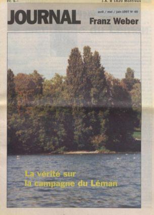 Journal Franz Weber 40