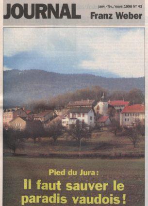 Journal Franz Weber 43