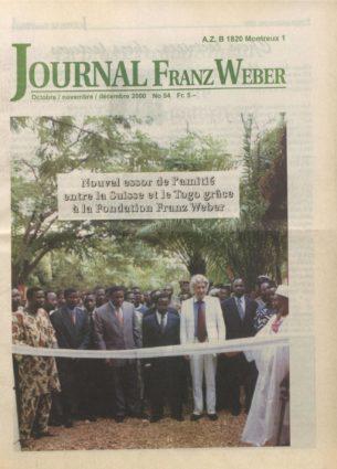 Journal Franz Weber 54