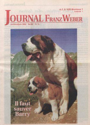 Journal Franz Weber 60