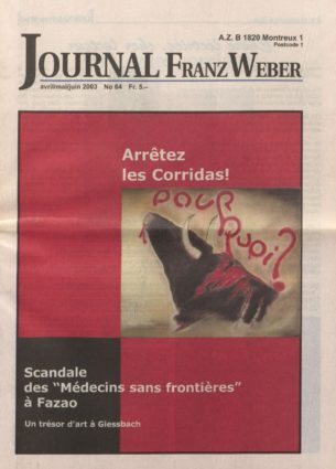 Journal Franz Weber 64