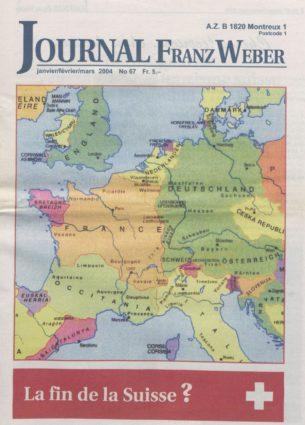 Journal Franz Weber 67