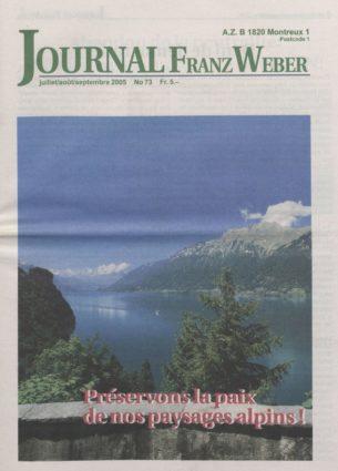 Journal Franz Weber 73