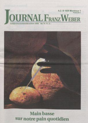 Journal Franz Weber 74