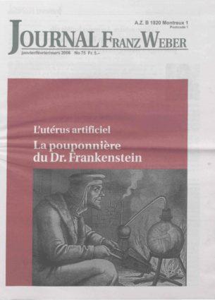 Journal Franz Weber 75