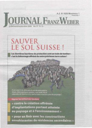 Journal Franz Weber 77