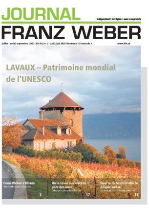 Journal Franz Weber 81