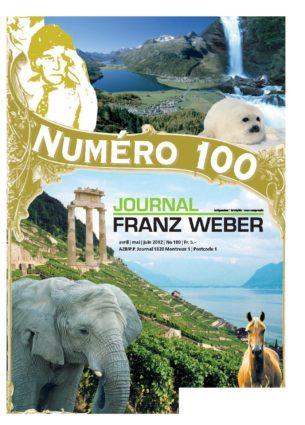 Journal Franz Weber 100