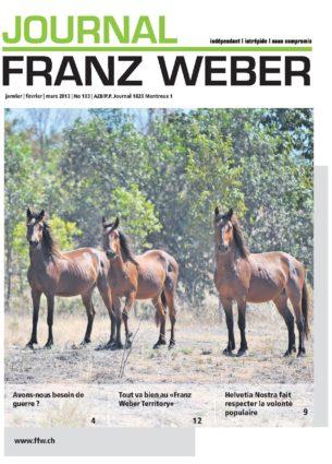 Journal Franz Weber 103