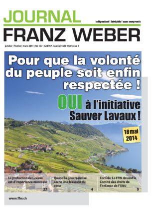 Journal Franz Weber 107